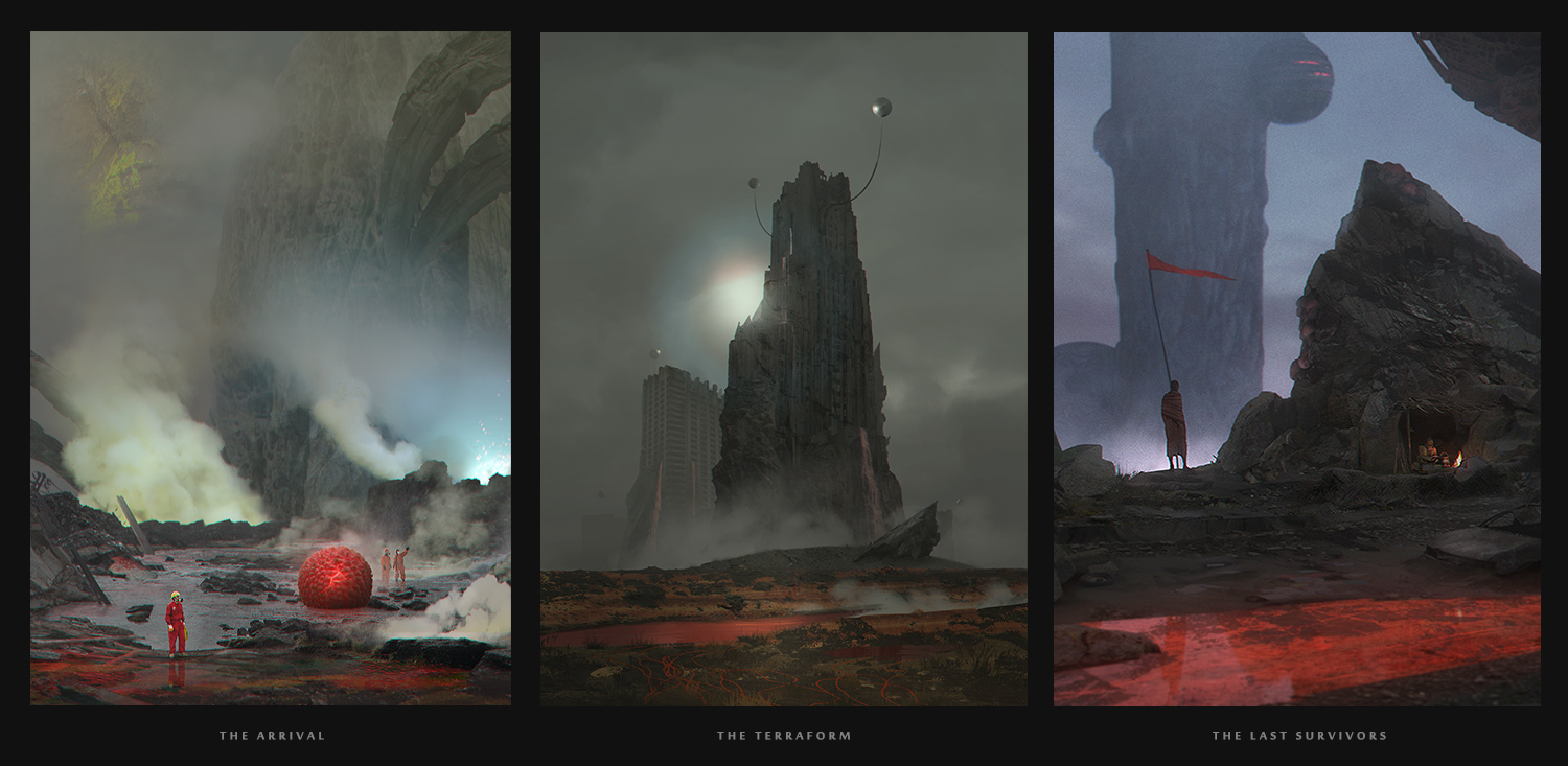 Experienced mid-weight environment concept artist available