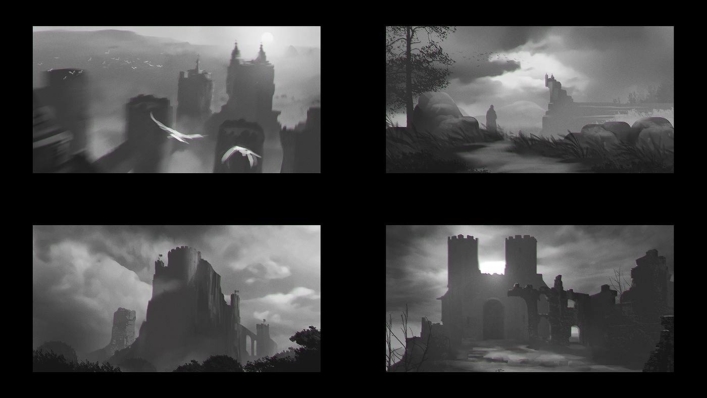 Castle Sketches 02
