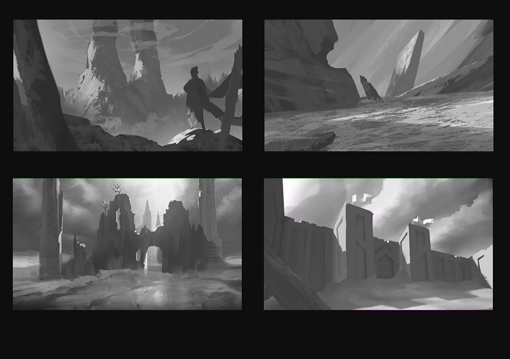 Thumbail Sketches
