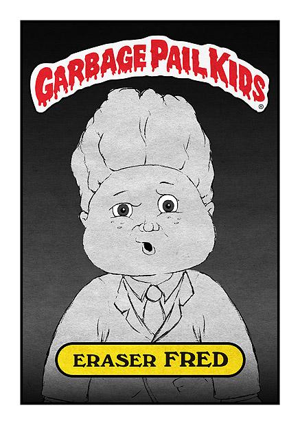Garbage Pail Kid - Eraserhead