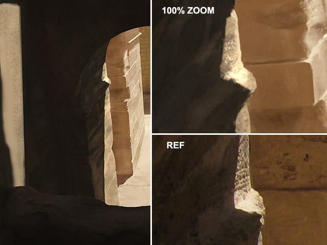 Digital Painting Tutorial: photo real stone ruins 13