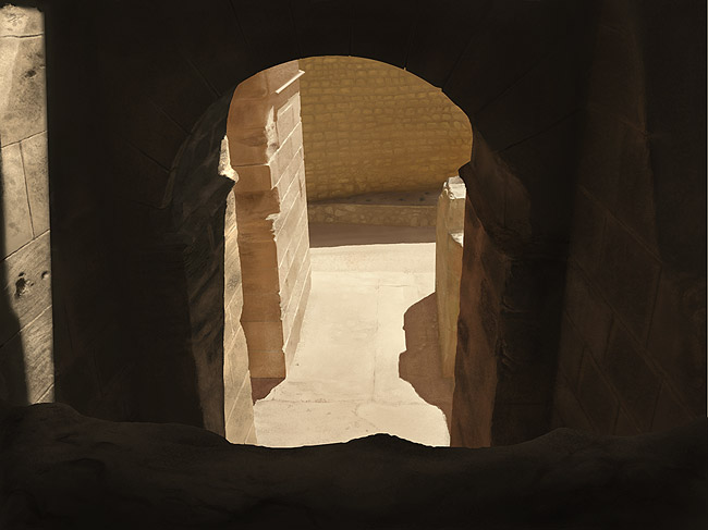 Roman Ruins - Digital Painting Study