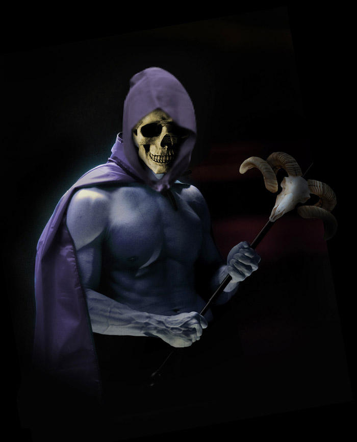 skeletor digital painting tutorial