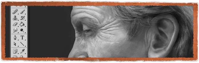 Old Man - Digital Painting Study