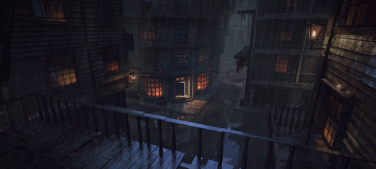 Captain's Ship Tavern - Concept Art
