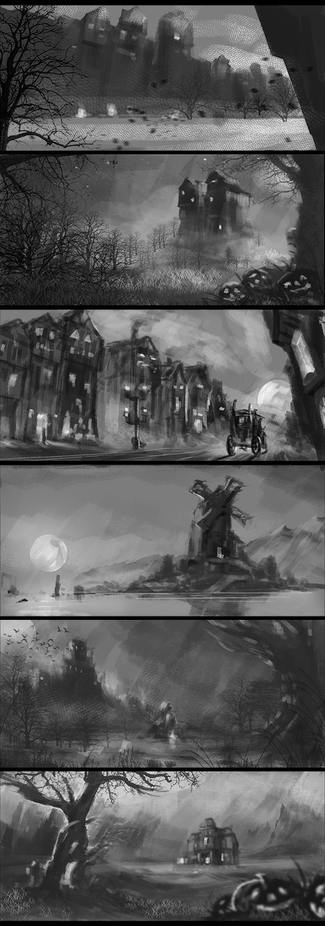 Digital Painting Thumbnail Practise