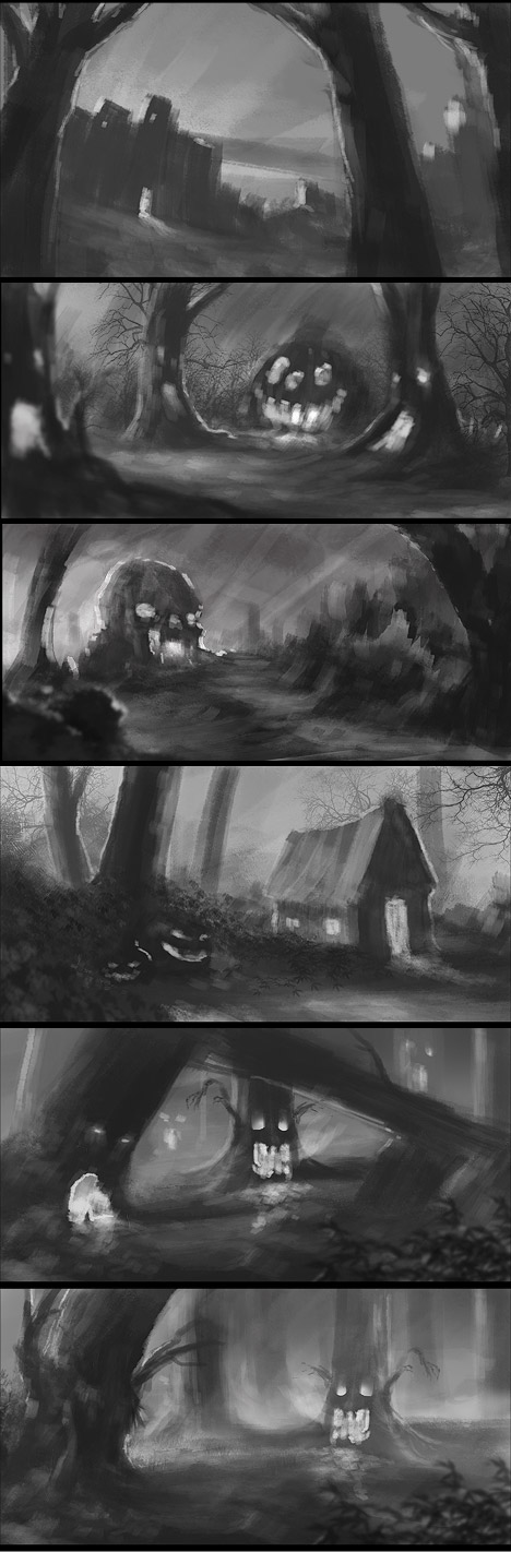 Digital Painting: Thumbnail Practise