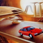 Retro sci-fi art 8