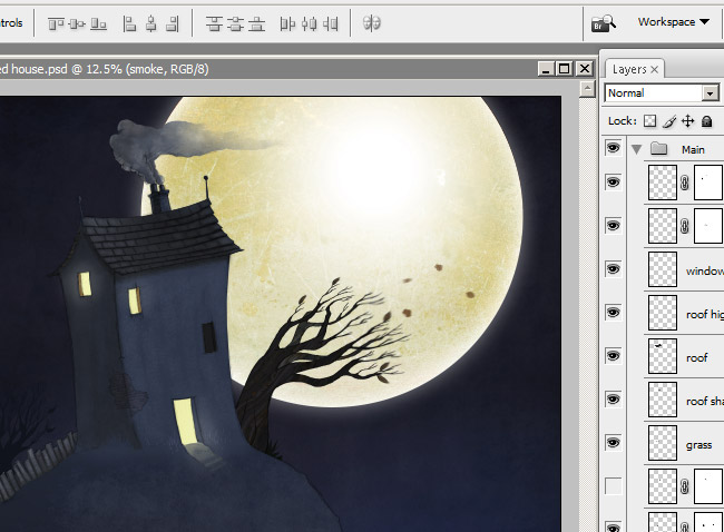 Sooky House photoshop tutorial