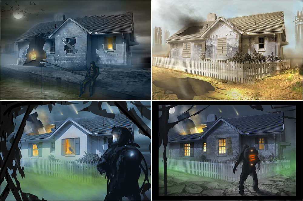 Making of: Apocalypse House Matte-Painting