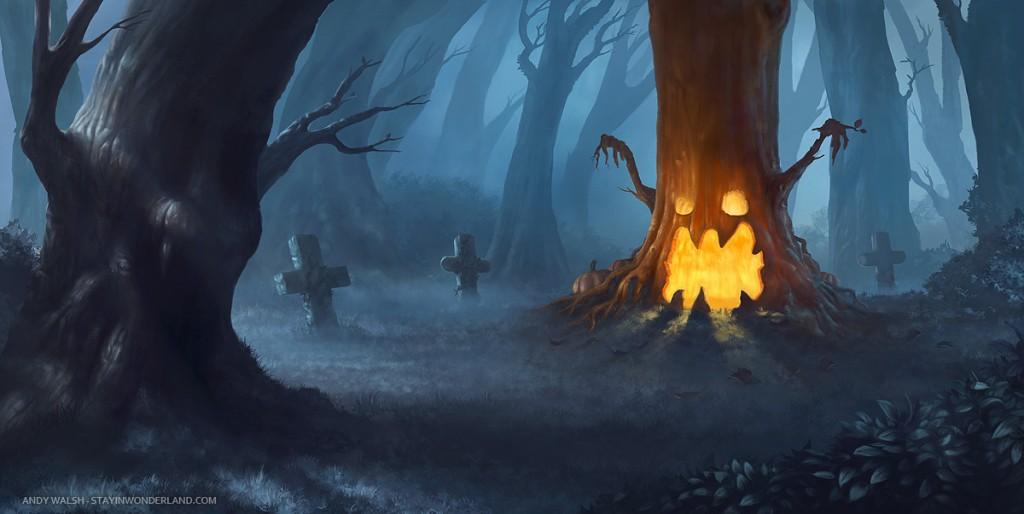 Halloween Digital Painting Tutorial