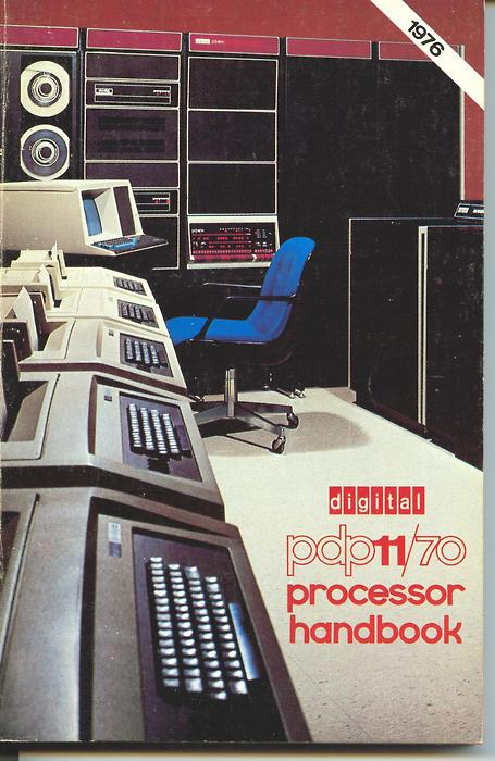 Retro Futurism part 5: PDP-11/70 Processor Handbook