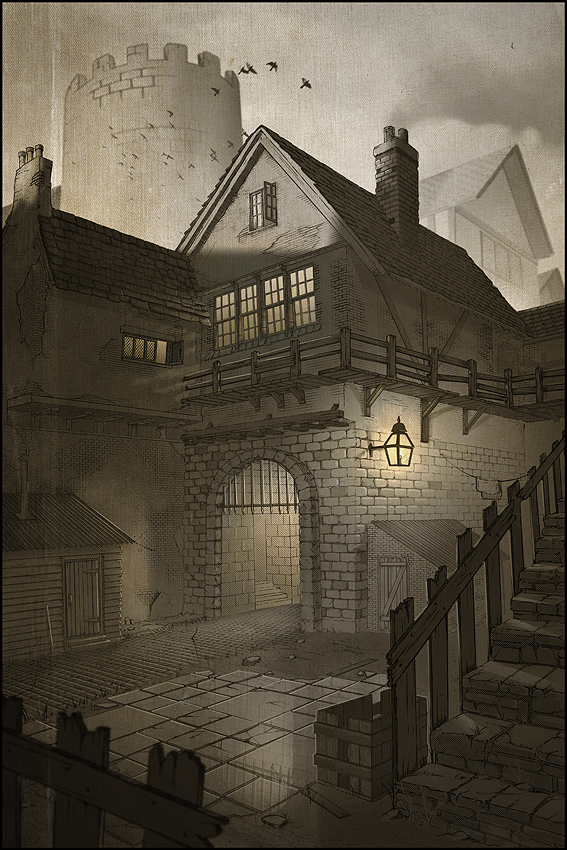 Digital Painting Tutorial - Victorian Slums