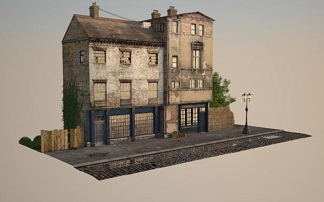 3d Victorian Street 13