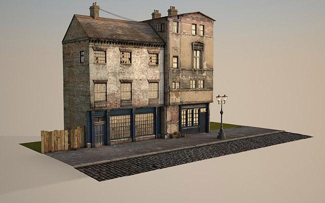 3d Victorian Street 12