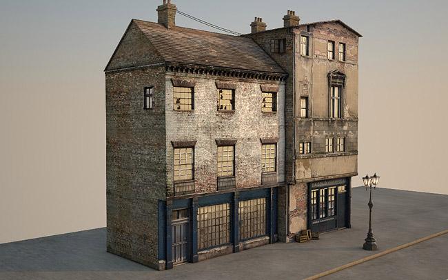 3d Victorian Street 11