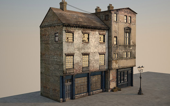3d Victorian Street 10