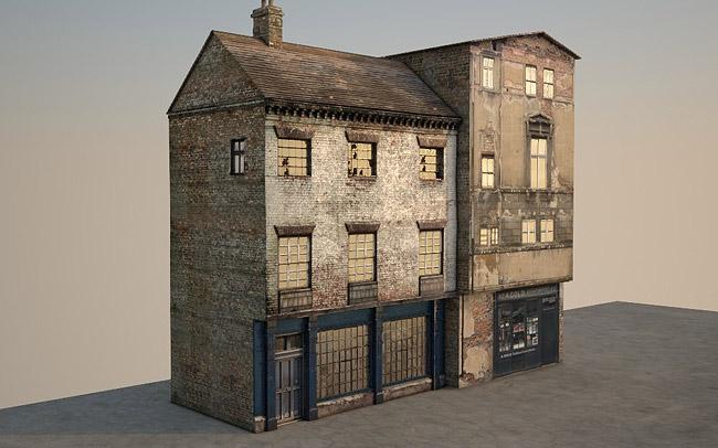 3d Victorian Street 07