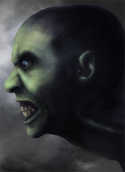 Zombie Digital Painting Tutorial