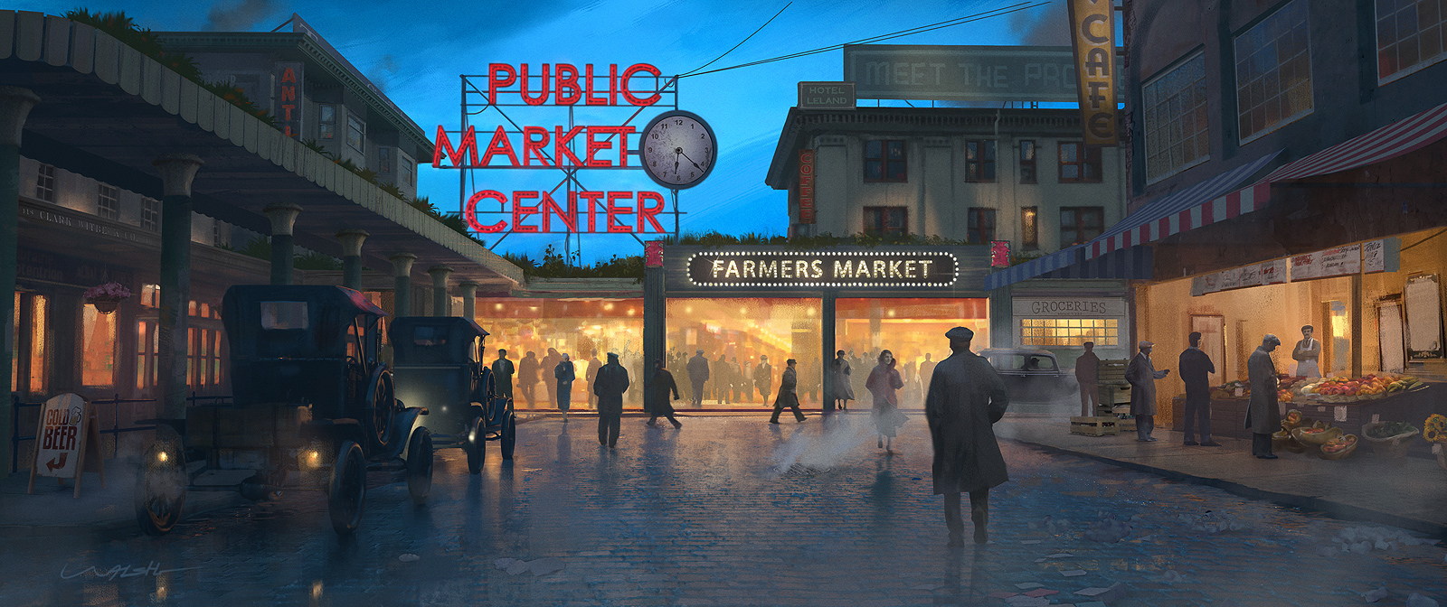 Pike Place Seattle - 1920s