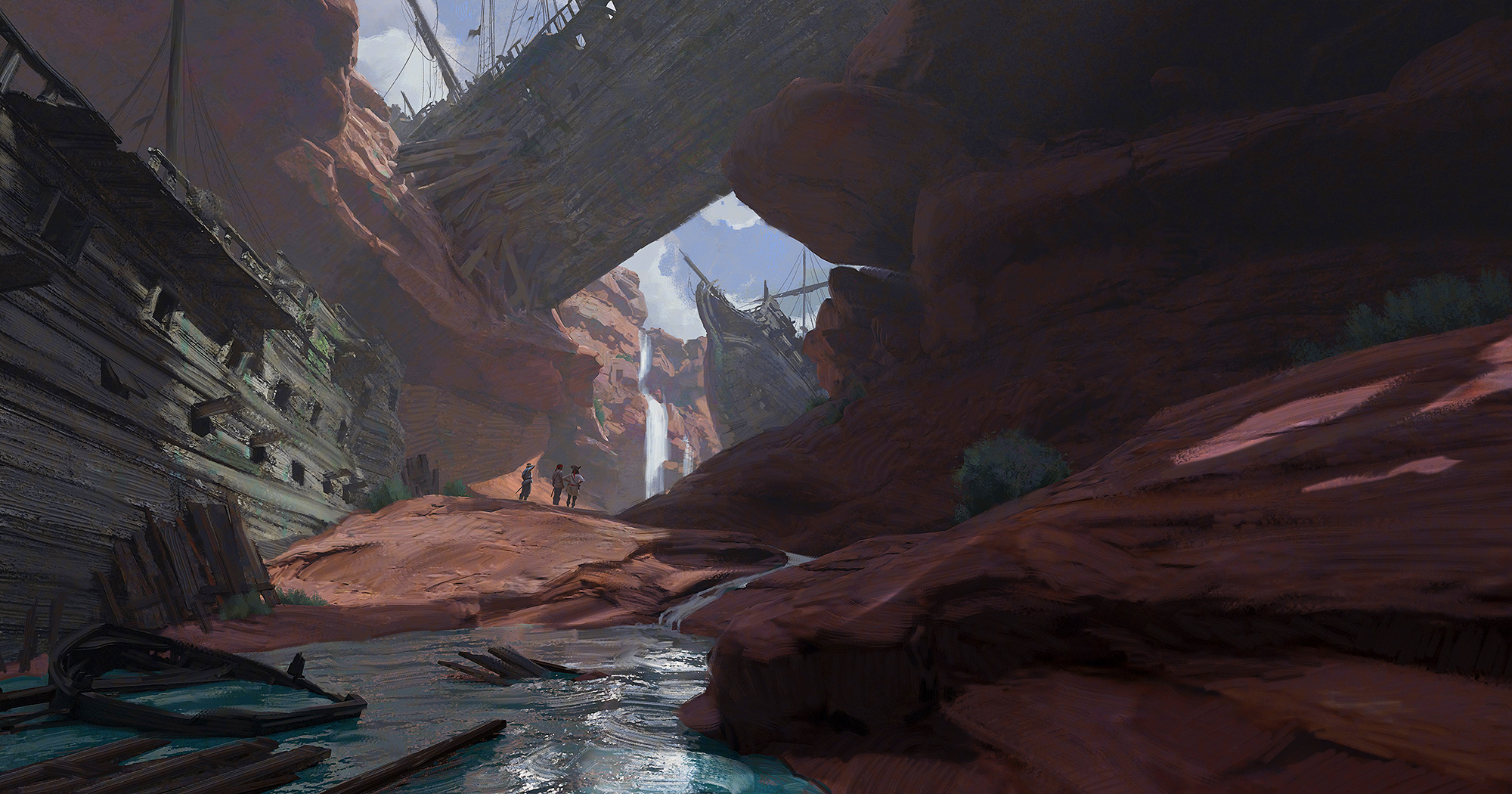 Pirate Canyon - Wreck of the Narrows