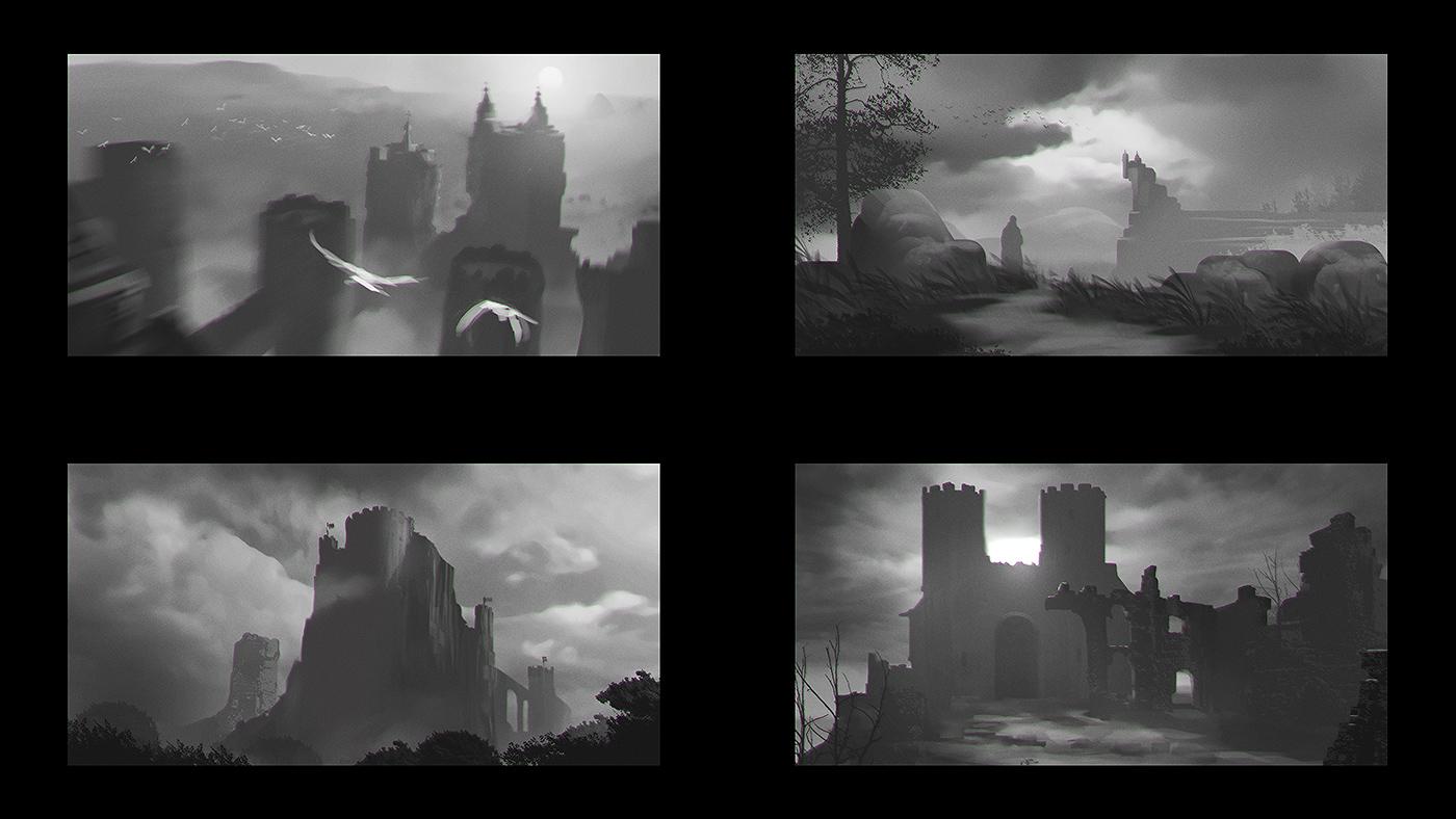 Castle Sketches 02