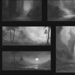 thumbnail sketches 02 - jungle