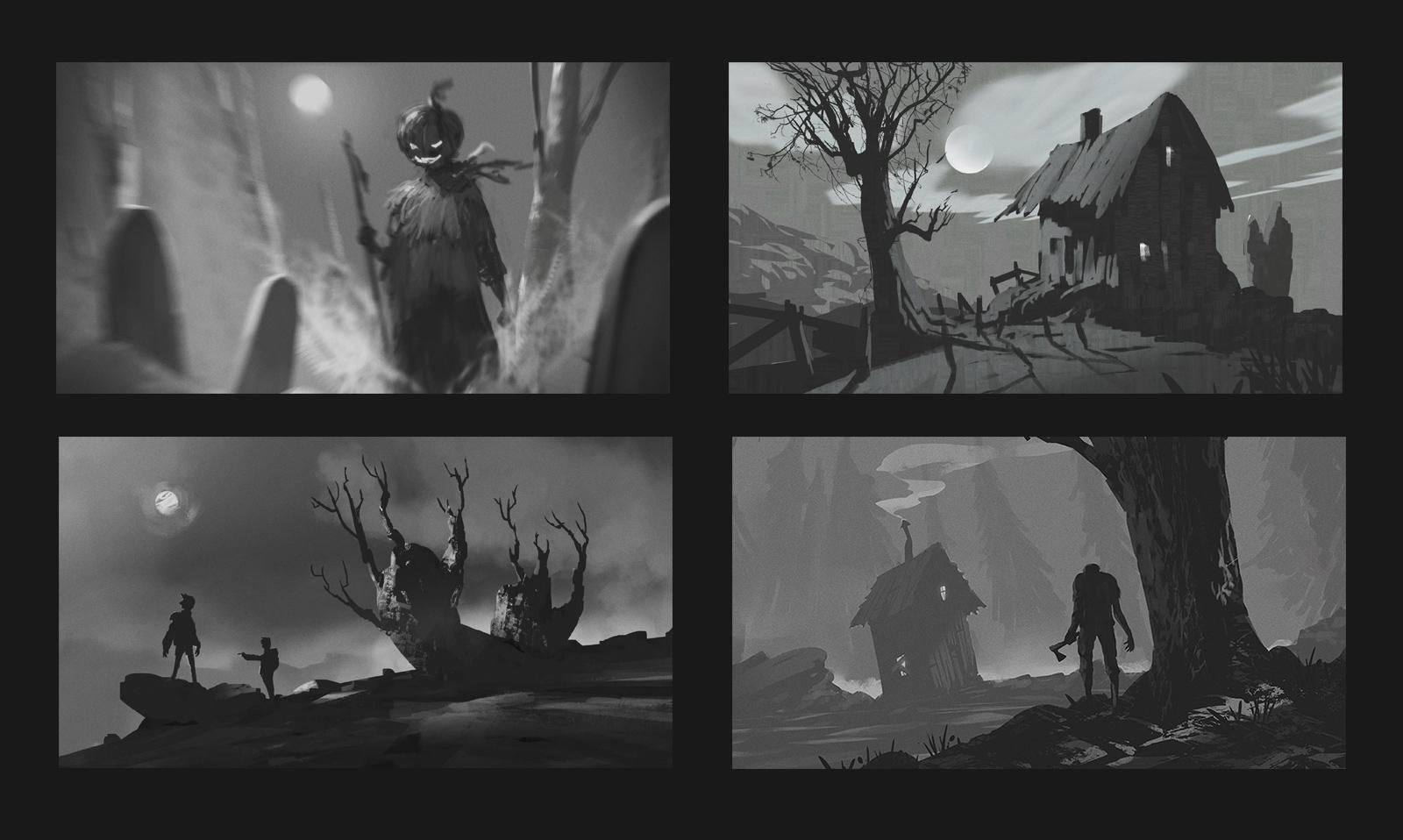 Halloween Thumbnails